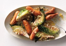 seared-savoy-cabbage-with-mixed-sausages-646
